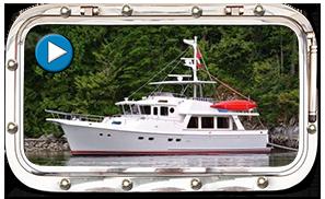 Selene Trawler Yacht 53 Video, Maritime