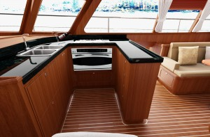Satin Finish - Galley