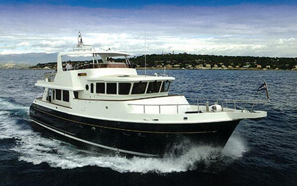 Selene 62 trawler yacht