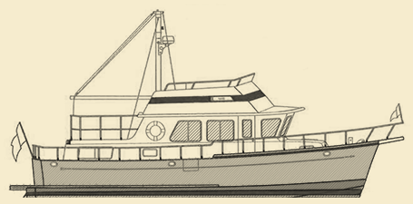 Selene 36 Trawler Yacht Model