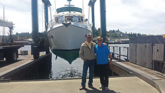 sold 2005 Selene 43, Greg Cook summer 2015