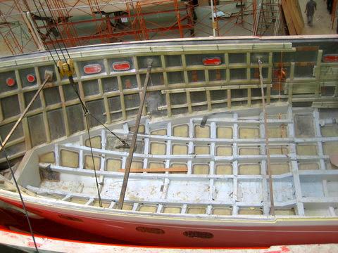 Selene Trawler hull structure