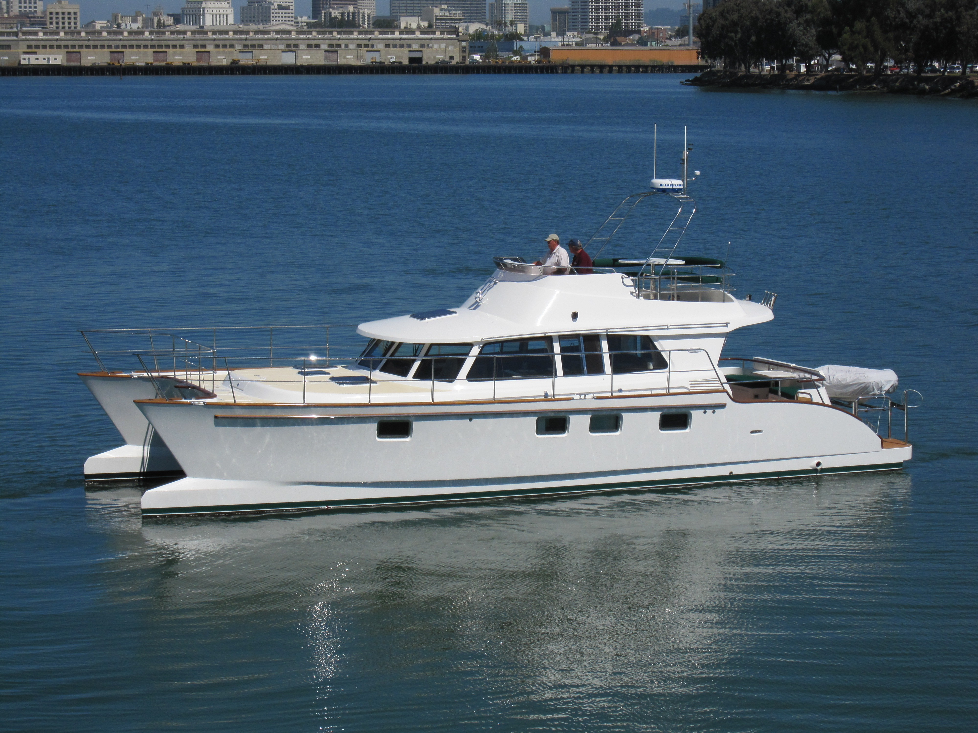 New Boats Journey Cat 47 Review By Nw Yachting Ocean