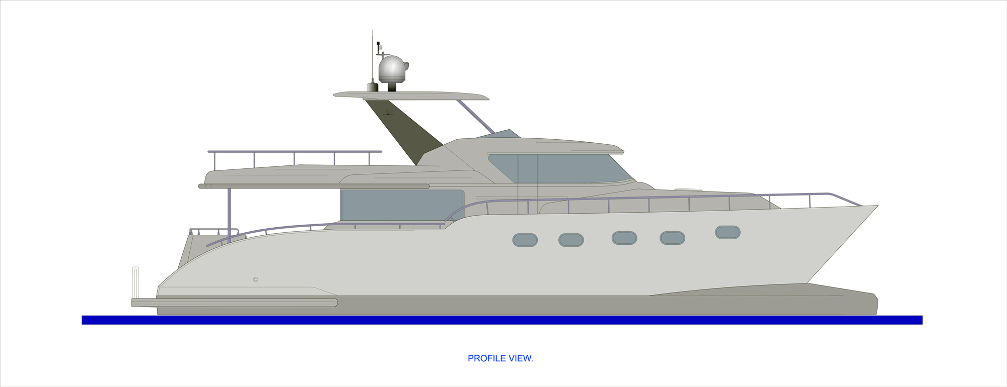 Journey Catamaran 64 Profile-B